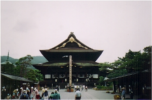 The world-famous Zenko-Ji